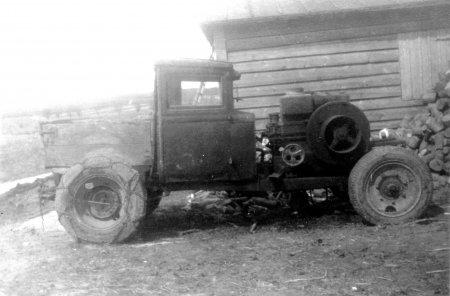 Aus dem Dorfleben um 1950 (1)