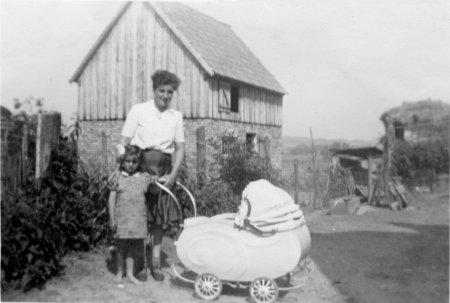 Aus dem Dorfleben um 1950 (2)