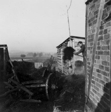 Aus dem Dorfleben um 1950 (3)