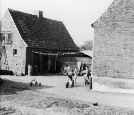 Aus dem Dorfleben um 1950 (5)