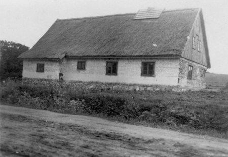 Haus Nr. 36 von Hans-Werner Brahs, Lehmbau, 1948