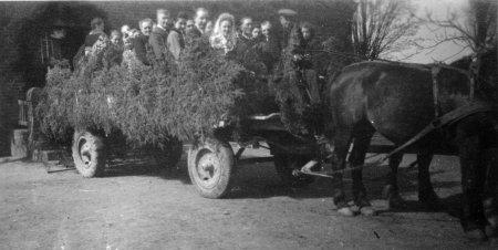 Erntefest 1948, Albert Päplow als Kutscher