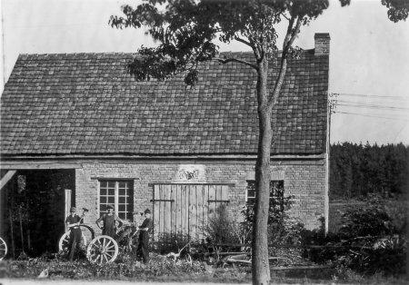 Dorfschmiede, Sept. 1951