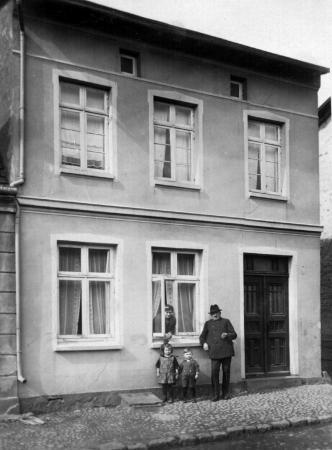 Haus Darguner Straße 11, etwa 1924