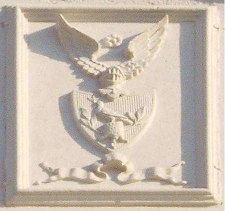 Wappen am Gutshaus