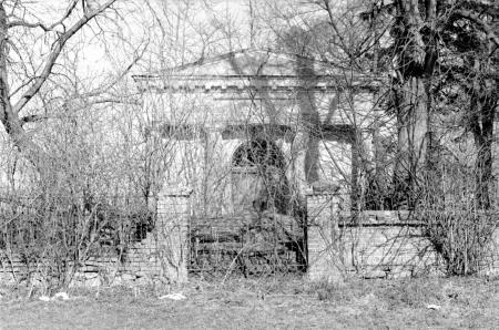 Das Erbbegräbnis der Familie Viereck 1978
