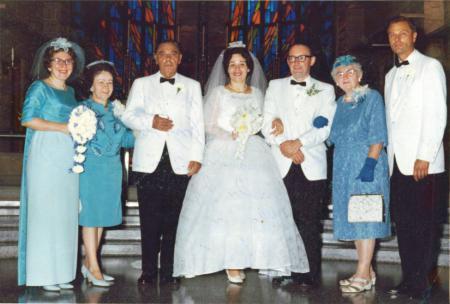 Hochzeitsfoto Ruth Wiederhold und Herbert Schroeder