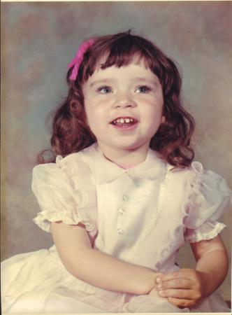 Maria Schroeder, 1970, 3 Jahre alt
