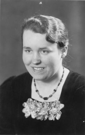 Hertha Schulze, geb. Schmidt