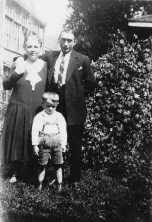 Erna, Ewald und Herbert Schroeder