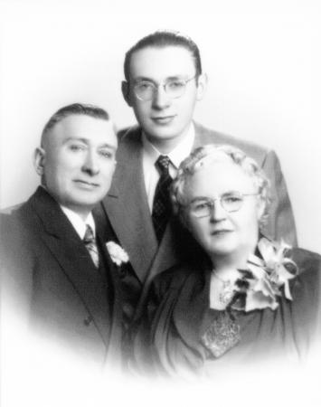 Ewald, Herbert und Erna Schroeder