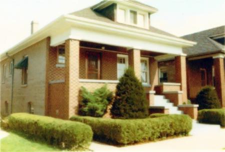Haus von Herbert und Ruth Schroeder in Chicago, Illinois USA