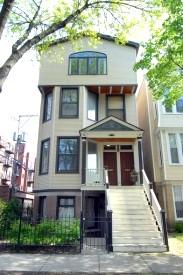 In diesem Haus in Chicago wohnte Otto Waterstradt