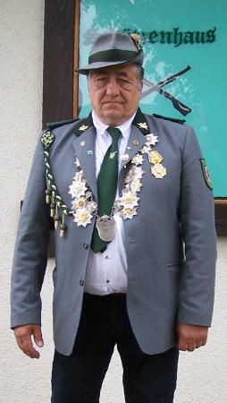 Schützenkönig 2012: Joachim Guhl