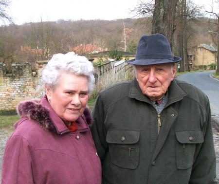 Irma Kneier, geb. Westebbe (geb. 14.2.1932) und Alexander Kneier (geb. 7.1.1927)