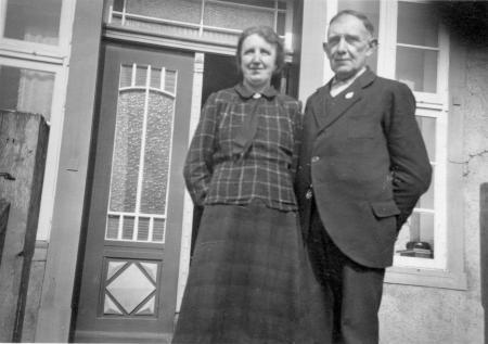 Maria und Franz Kneier (7.7.1940)