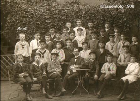 Schüler des Johanneums 1908