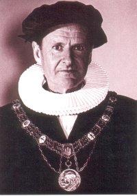 Snell als Rektor der Universität Hamburg
