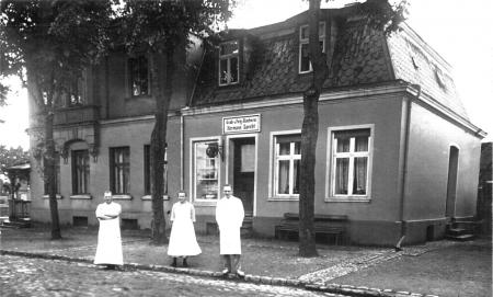 Die Bäckerei Specht um 1935