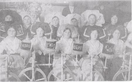 Spinte in Fehrow in der ersten Hälfte des 20. Jahrhunderts