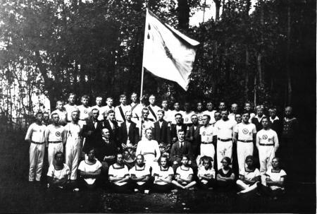 Turnerfest im Gartsbruch 1925