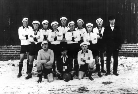 Fußballer um 1945