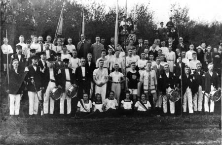 Sportfest um 1935