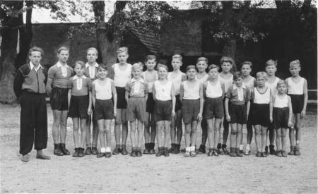 Schulsportgruppe 1951
