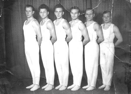 Hugo Meilke beim ASK Neubrandenburg, 1955 (rechts)