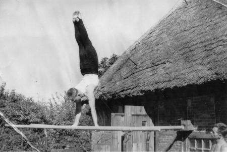 Hugo Meilke in Altkalen, 1956 (4)