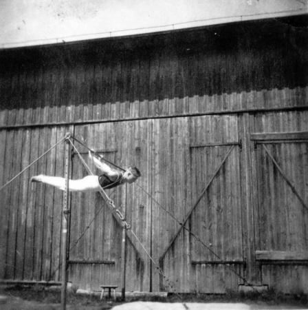 Hugo Meilke in Altkalen, 1956 (3)