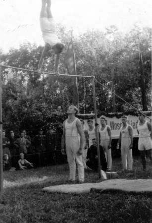 Hugo Meilke in Altkalen, 1956 (1)