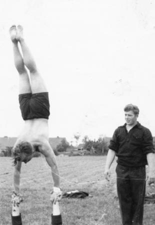 Hugo Meilke in Altkalen, 1956 (2)