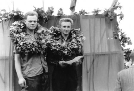 Klaus Matznick und Ewald Schwarz