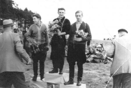 7.10.1958, von links: Wolter, Schwarz, Kümmel