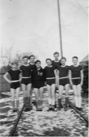 Handball Jugend 1957 in Stavenhagen