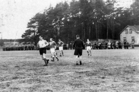 Spiel gegen Demmin am 31.3.1957