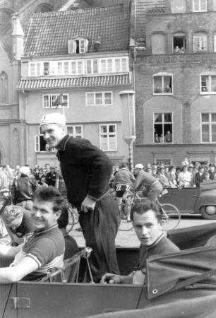 Links: J. Turtschan, zweiter in Rostock 1960