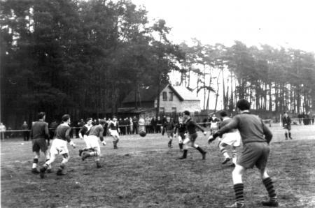 Spiel am 31.3.1957 gegen Traktor Gnoien
