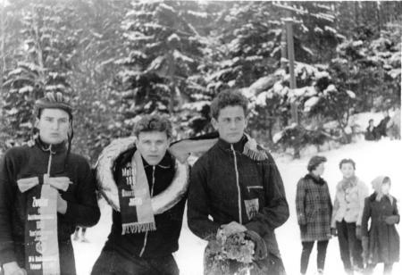Teterow 1962, rechts: Josef Turtschan