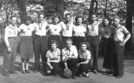 Handballer 1. Mai 1952