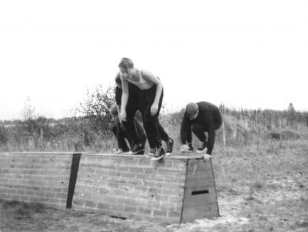 Hindernisüberquerung, 1969, bei den Judentannen