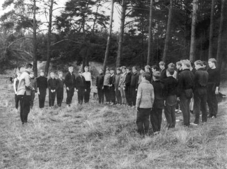 Appell vor der Sportprüfung 1969 an den Judentannen