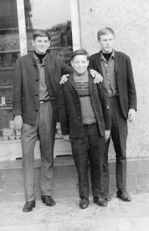 Von links: Bodo Kunst, Dieter Reetz und Jürgen Voß