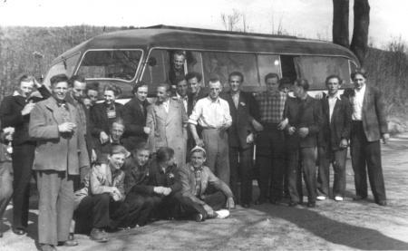 Fahrt nach Templin, September 1953