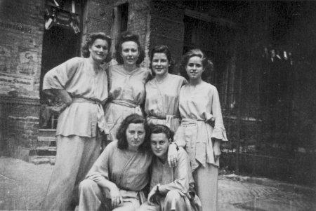 Deutschlandtreffen 1950 mit Kostüm