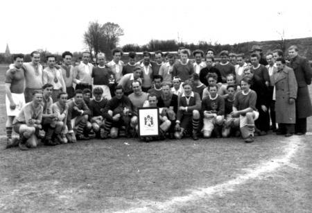 Spiel gegen Flensburg 1954 in Neukalen