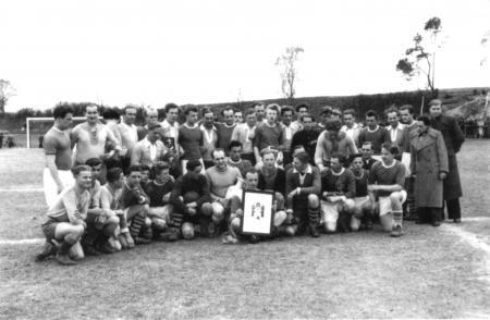 Spiel gegen Flensburg 1954 in Neukalen (2)