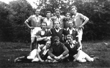 A-Jugend Mannschaft Fußball der S.G. Neukalen 1949 (Kreismeister 1948/49)