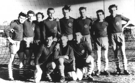 1. Fußballmannschaft 1957